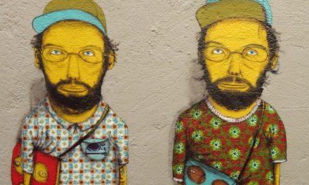 """A dupla de grafiteiros """"Os Gêmeos"""" em exposição na Pinacoteca"""
