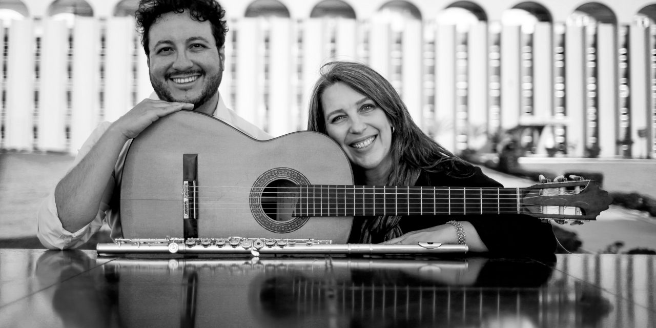 Duo Flauta e Violão no Sextas Musicais on Live Streaming