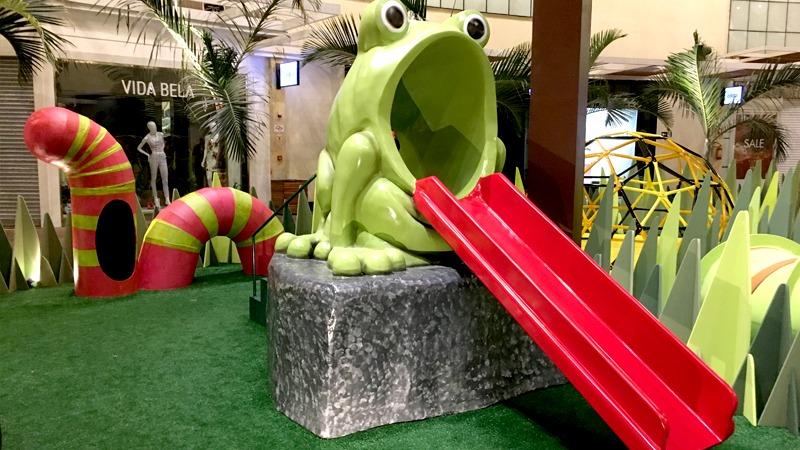 Férias! ParkShopping apresenta exposição Jardim dos Insetos Gigantes