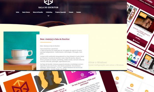 Sala do Escritor-portal de cursos ao vivo ajuda na formação de escritores e roteiristas