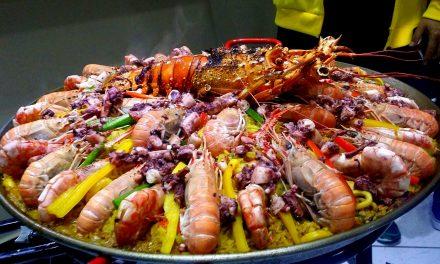 Paella Marinera para almoço de Páscoa