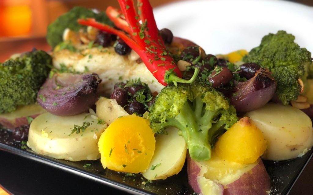Bacalhau de Páscoa pelo chef Melchior Neto