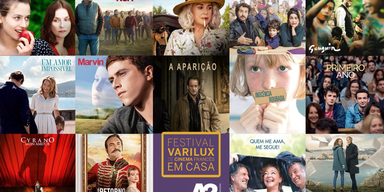 Festival Varilux em Casa disponibiliza 50 filmes para assistir em casa