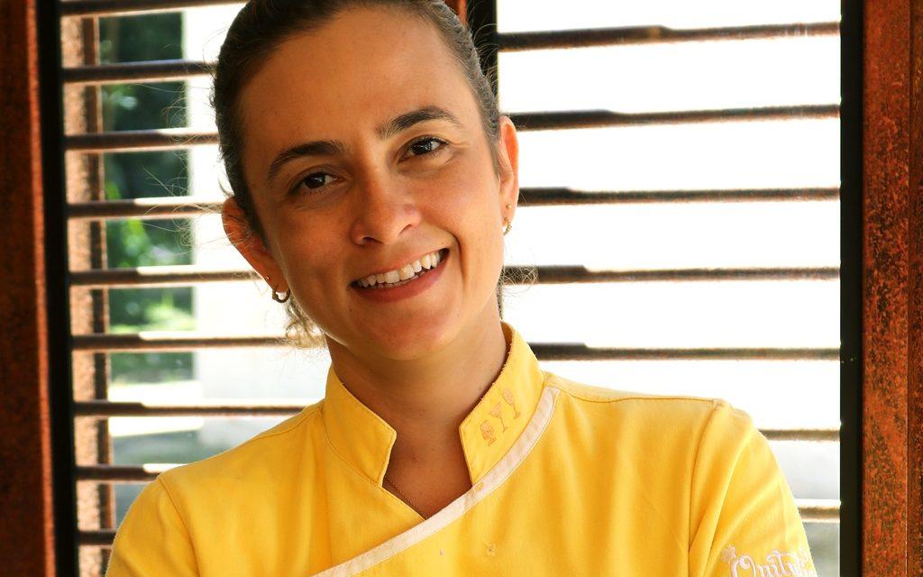 Chef Inaiá Sant'Ana ministra aula on-line beneficente em prol do Lar dos Velhinhos