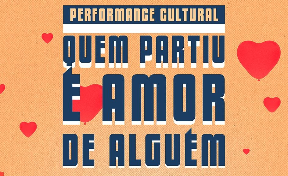 Performance Quem partiu é amor de alguém amanhã dia 1º de junho na rodoviária