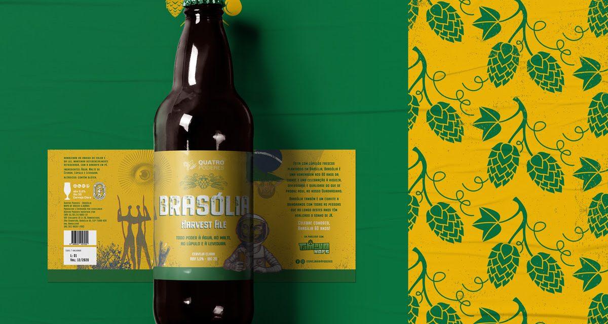 Cervejaria Quatro Poderes inaugura fábrica e lança Brasólia