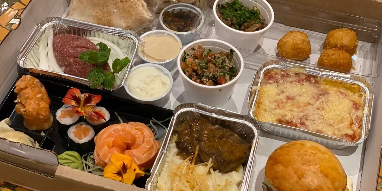 Kit gastronômico da chef Lidia Nasser somente nesta segunda (08/06)