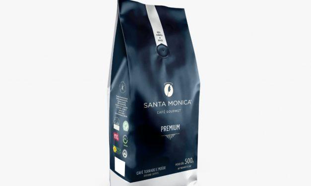 Santa Monica lança café Premium com foco no varejo
