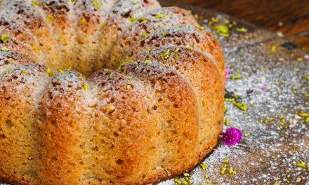 Receita de bolo low carb de Limão Siciliano, Amêndoas e gengibre