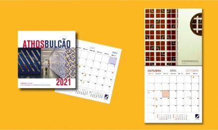 Fundação Athos Bulcão lança calendário ilustrado que homenageia os profissionais da saúde