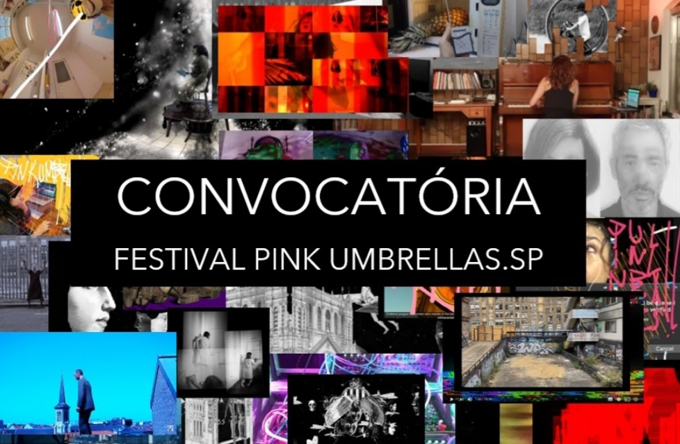 Festival Pink Umbrellas.SP abre convocatória para artistas do Estado de São Paulo