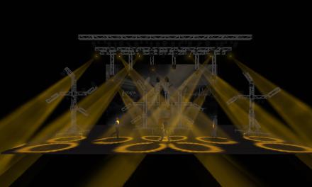 Iluminação Cênica ministrada gratuitamente no curso LUZ EM MOVIMENTO