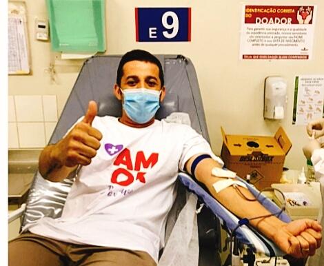 Ação voluntária engaja população a abastecer hemocentros em todo o país