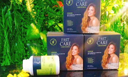 Fast Care complexo vitamínico para seus cabelos