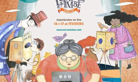 As Caixeiras Cia de Bonecas apresentam o II Encontro de Teatro Lambe-lambe de Brasília.