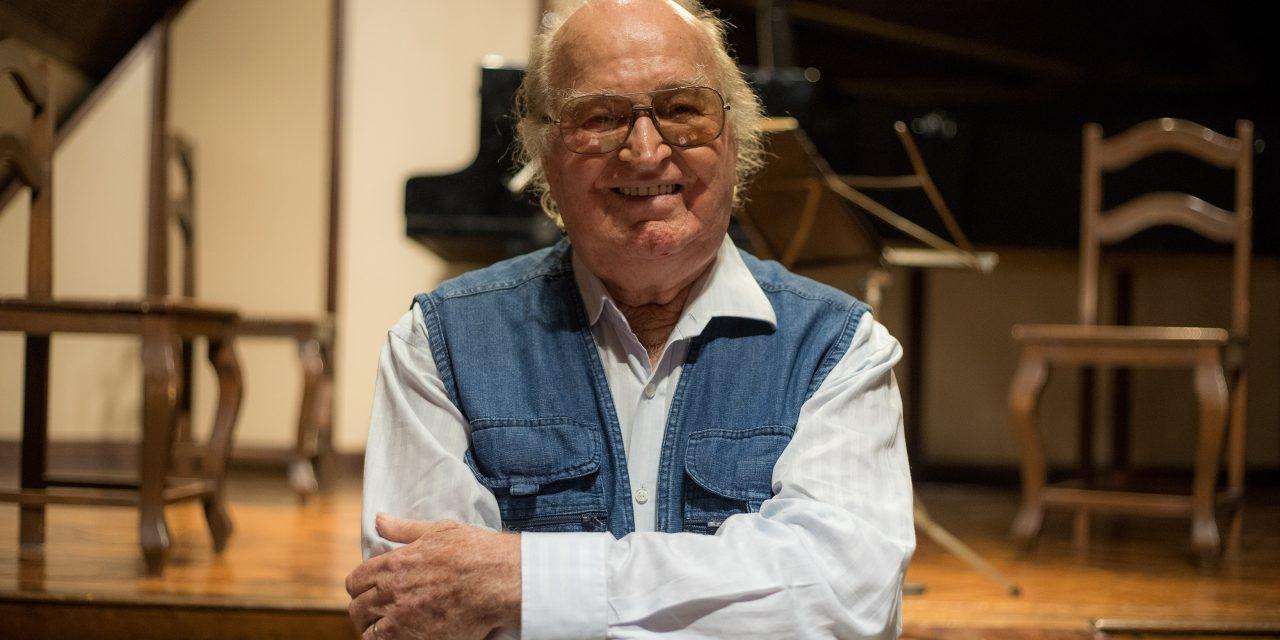 Edino Krieger comemora 93 anos lançando livro e CD em concerto online pela ABM, nesta quarta-feira, 17/3