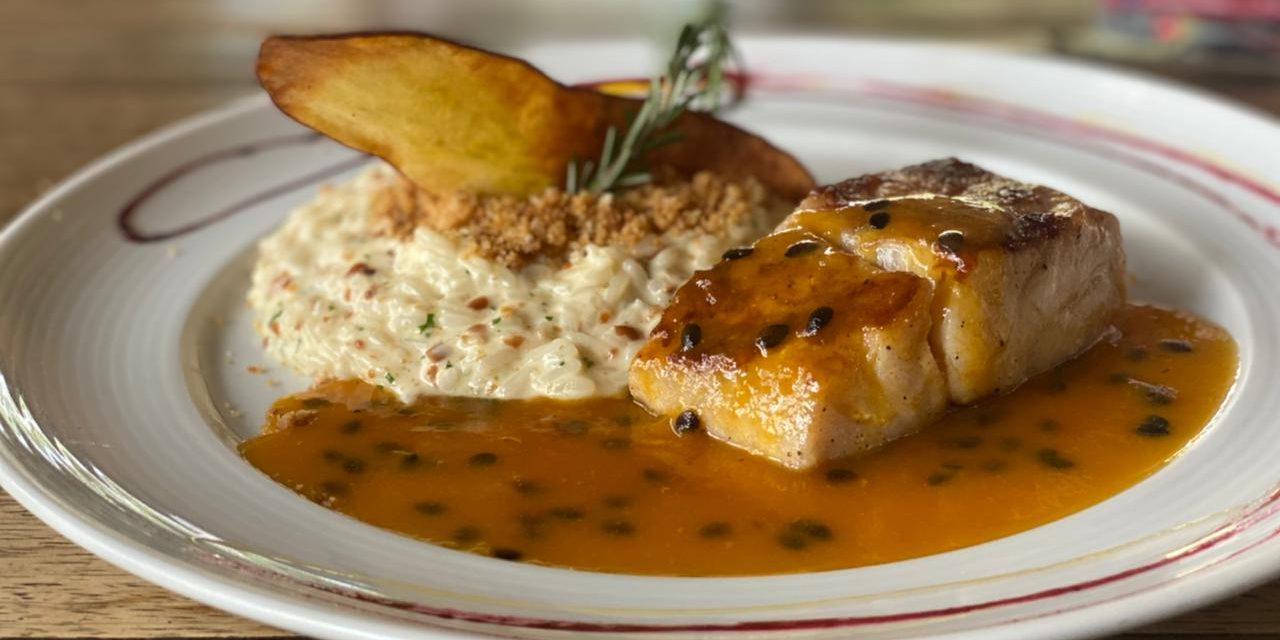 Pescada é criação do chef Dudu Camargo para homenagear Brasília