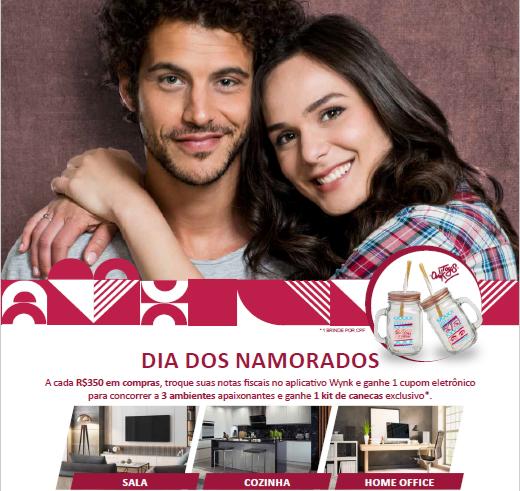 Viva o amor! Taguatinga Shopping celebra Dia dos Namorados com sorteio de três ambientes para a casa