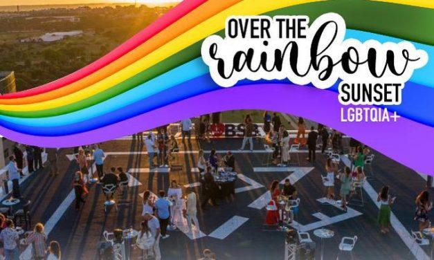 Brasil 21 promove OVER THE RAINBOW – SUNSET – no heliponto