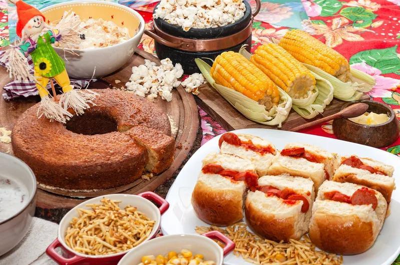 Café das Orquídeas comemora São João com buffet de comidas juninas