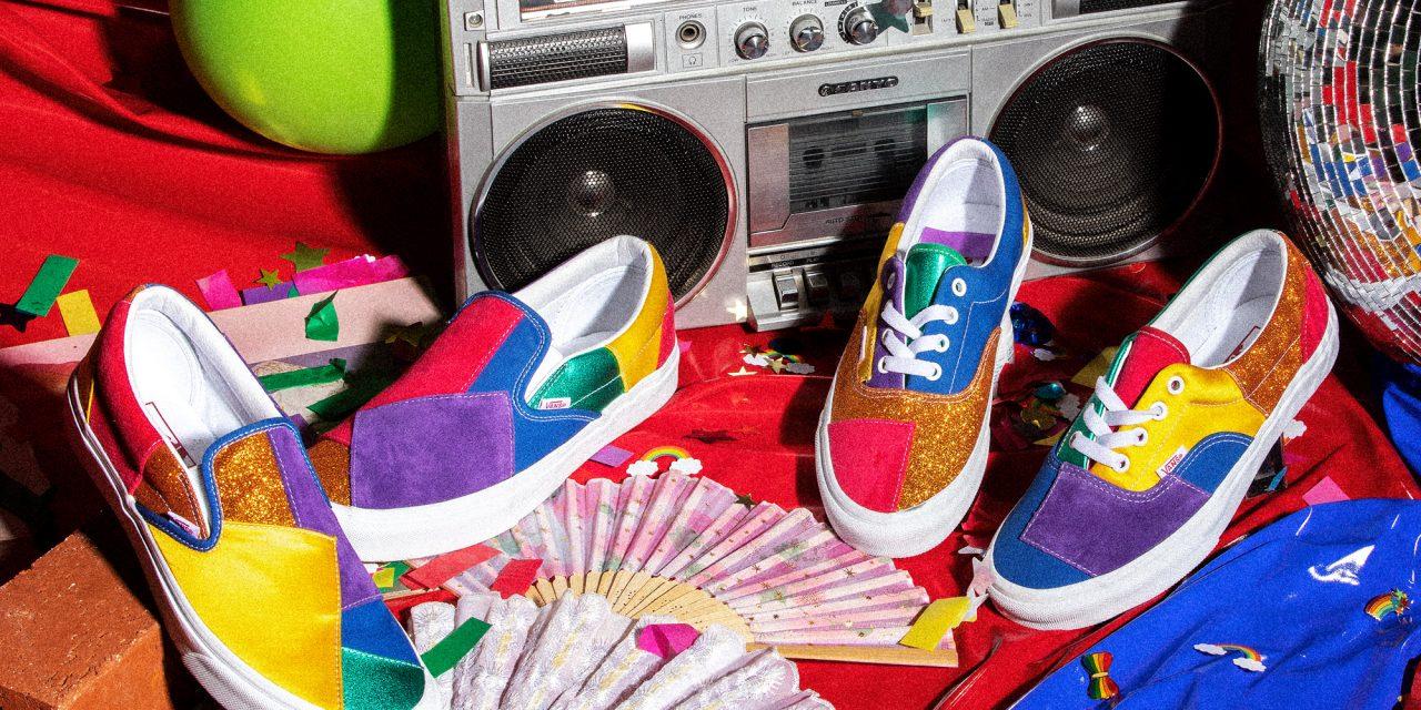 A Vans celebra a liberdade e a expressão criativa durante o Mês do Orgulho amplificando as histórias e mensagens da comunidade LGBTQ+