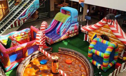 Férias no DF Plaza Shopping tem Infláveis, contação de histórias, colônia de férias e torneio de basquete
