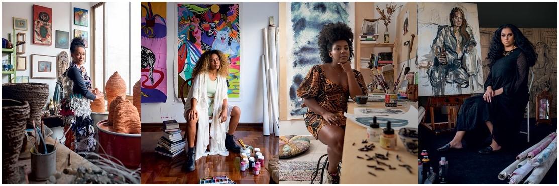 Verbetes Femininos:  Casa Vogue conta a história de quatro artistas da exposição Enciclopédia Negra